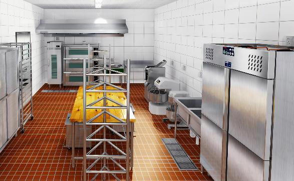 商用厨房设计图