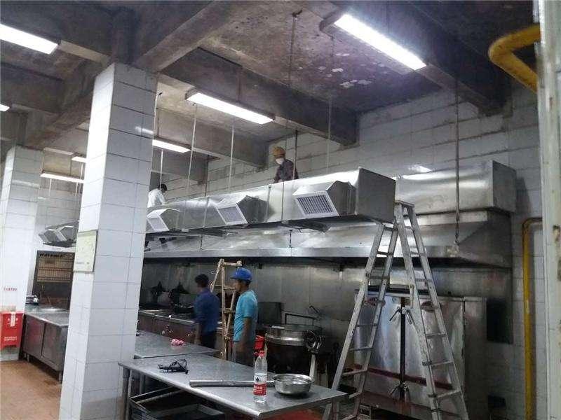 餐饮厨房设计标准及注意事项_排烟系统
