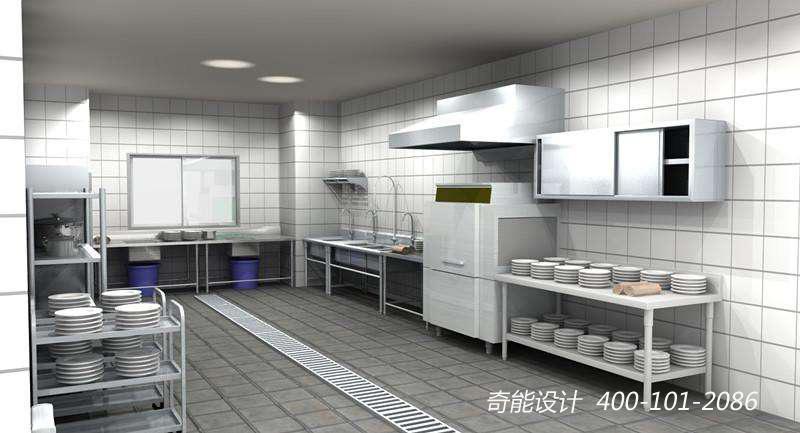 酒店厨房洗碗间设计
