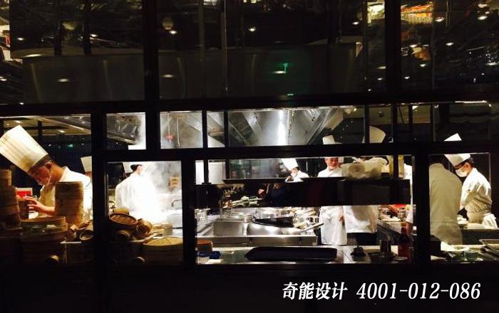高档餐厅厨房设计