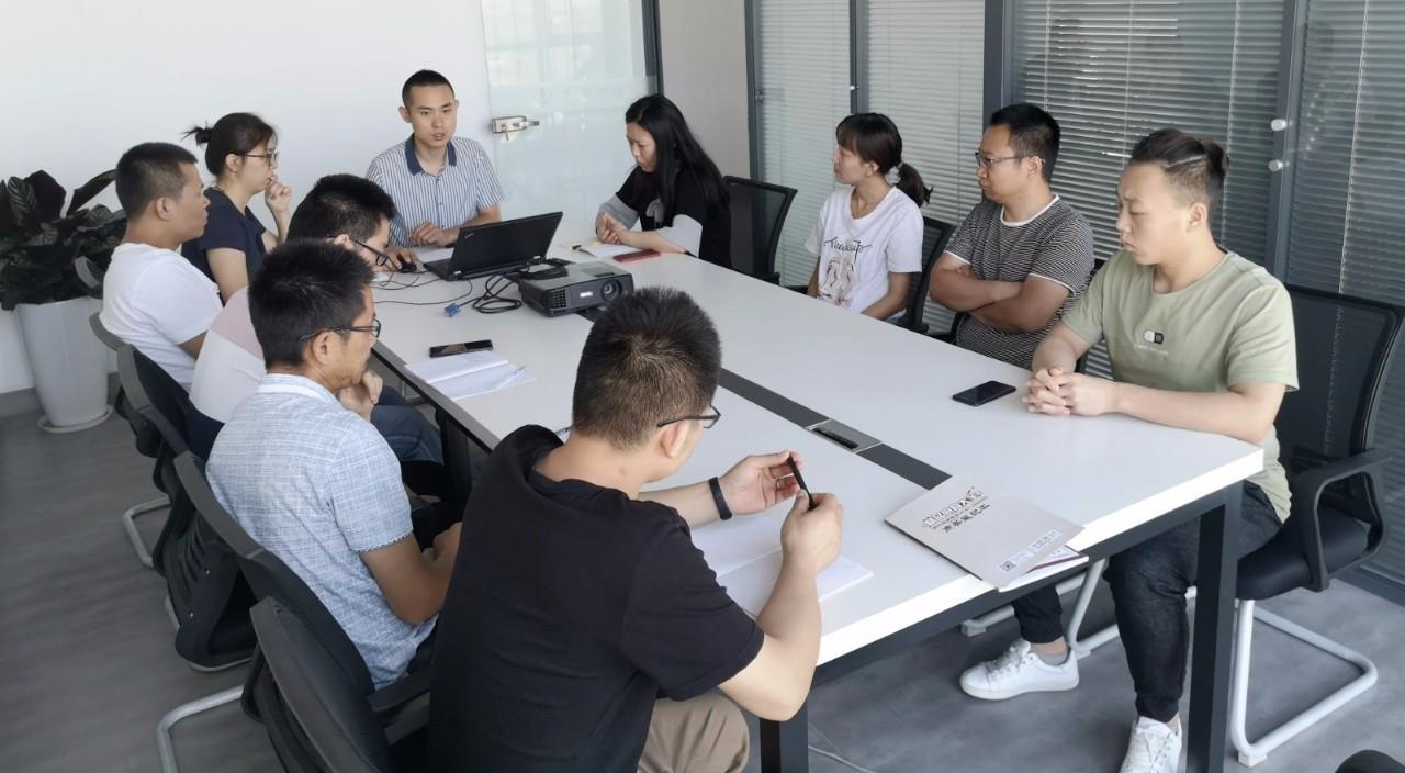 北京奇能商厨设计顾问有限公司 第二季度总结大会
