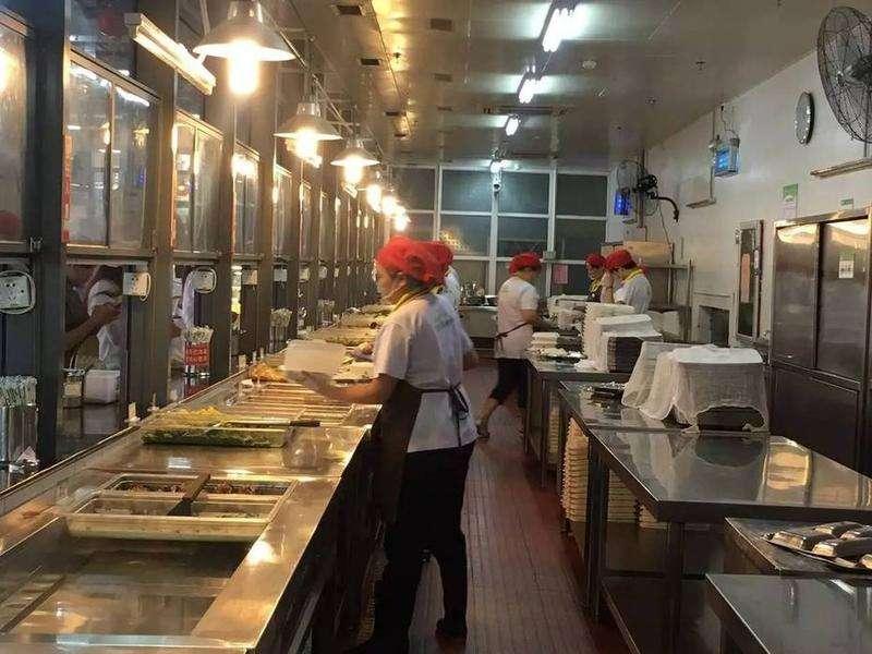 高校食堂后厨设计