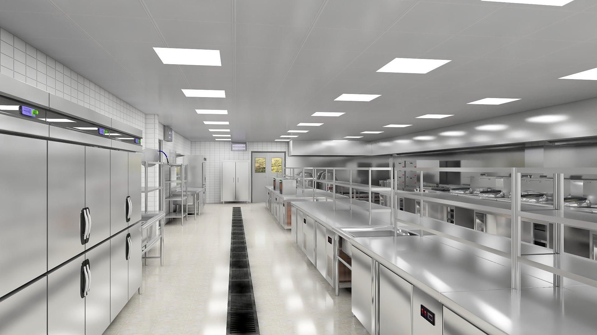 商用厨房设计-商用厨房设计要求及条件!