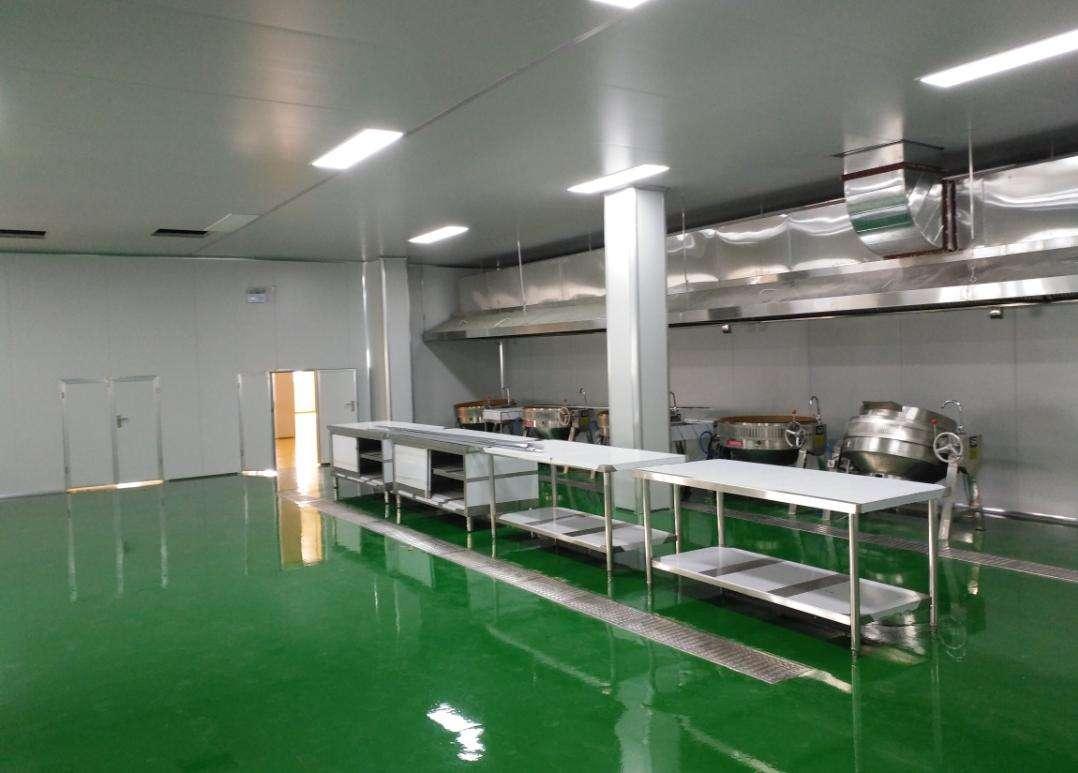 中央厨房卫生环境要求-内部结构
