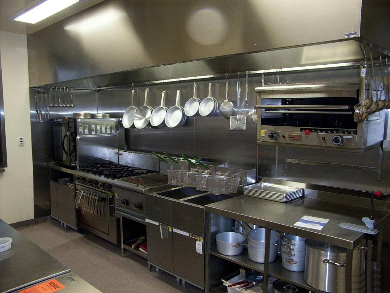 真实拍摄酒店厨房设计图片