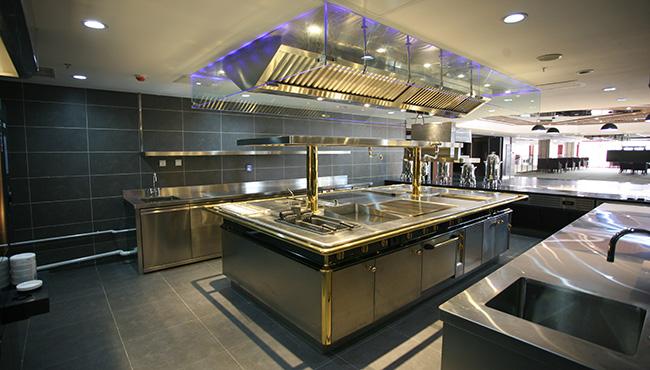 酒店厨房西餐厨房设计图片