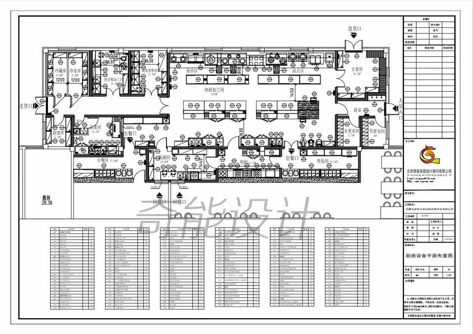 中国电科电子科技园食堂工程设计
