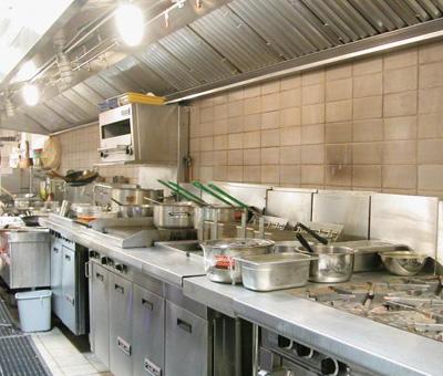 西餐厅厨房设计布局