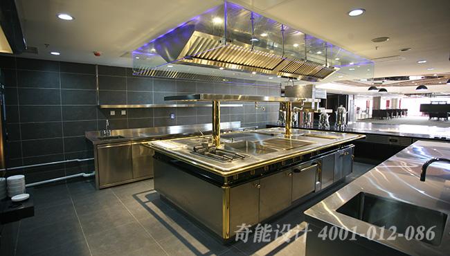 酒店开放式厨房