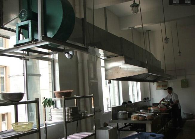 酒店厨房排烟设计图方案三