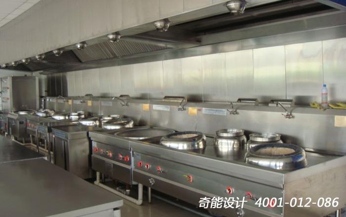 中餐厅厨房设计