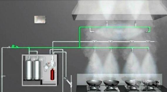 酒店厨房操作间应该配备的消防设备
