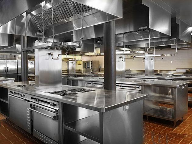 酒店厨房设备为什么都喜欢用不锈钢的呢