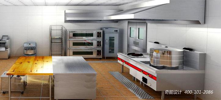 在商用厨房设计中,不管是饭店,酒店还是食堂或者中央厨房,在