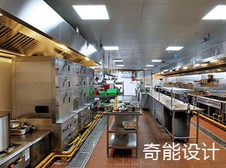 盒饭制作中央厨房设计图_效果图