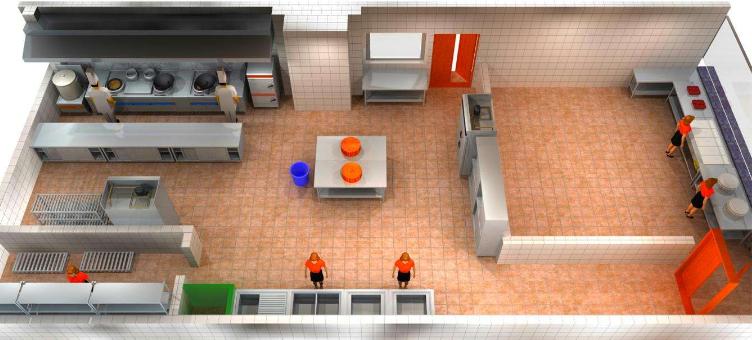 餐饮店厨房设计注意事项