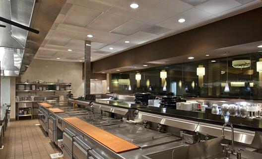 酒店餐厅和厨房设计比例是多少