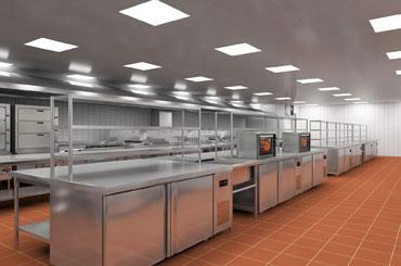 商用厨房设计-厨房用电
