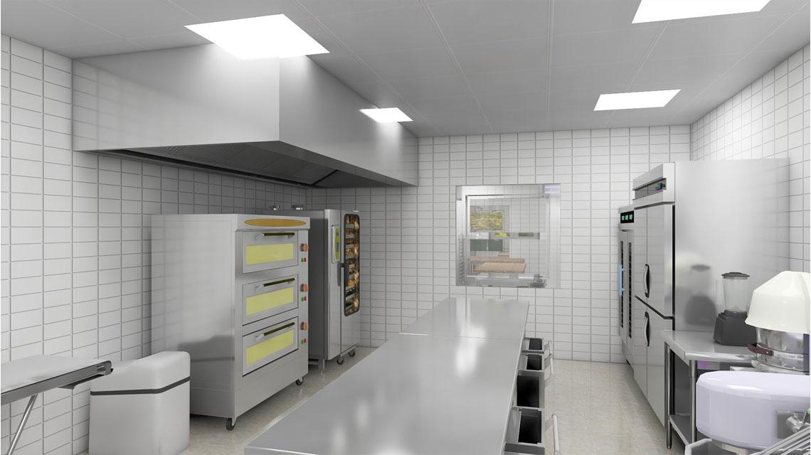 商用厨房设计-厨房排烟