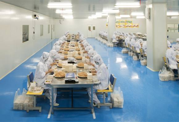 中央厨房规划建设-包装分拣