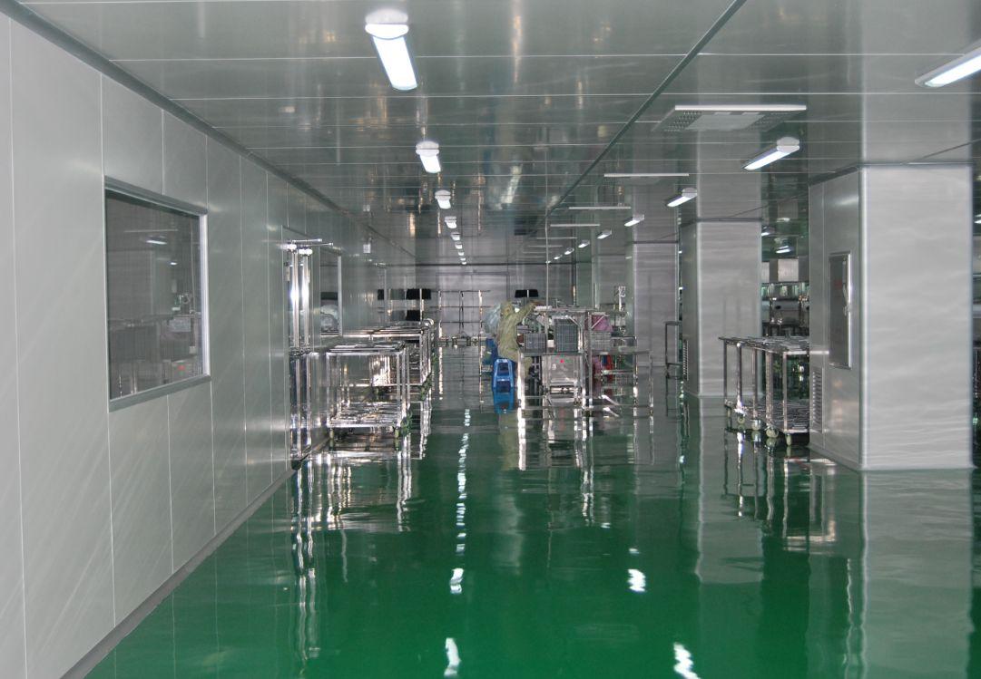 食品生产车间布局标准-顶棚
