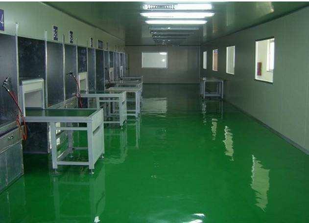 食品生产车间布局标准-地面