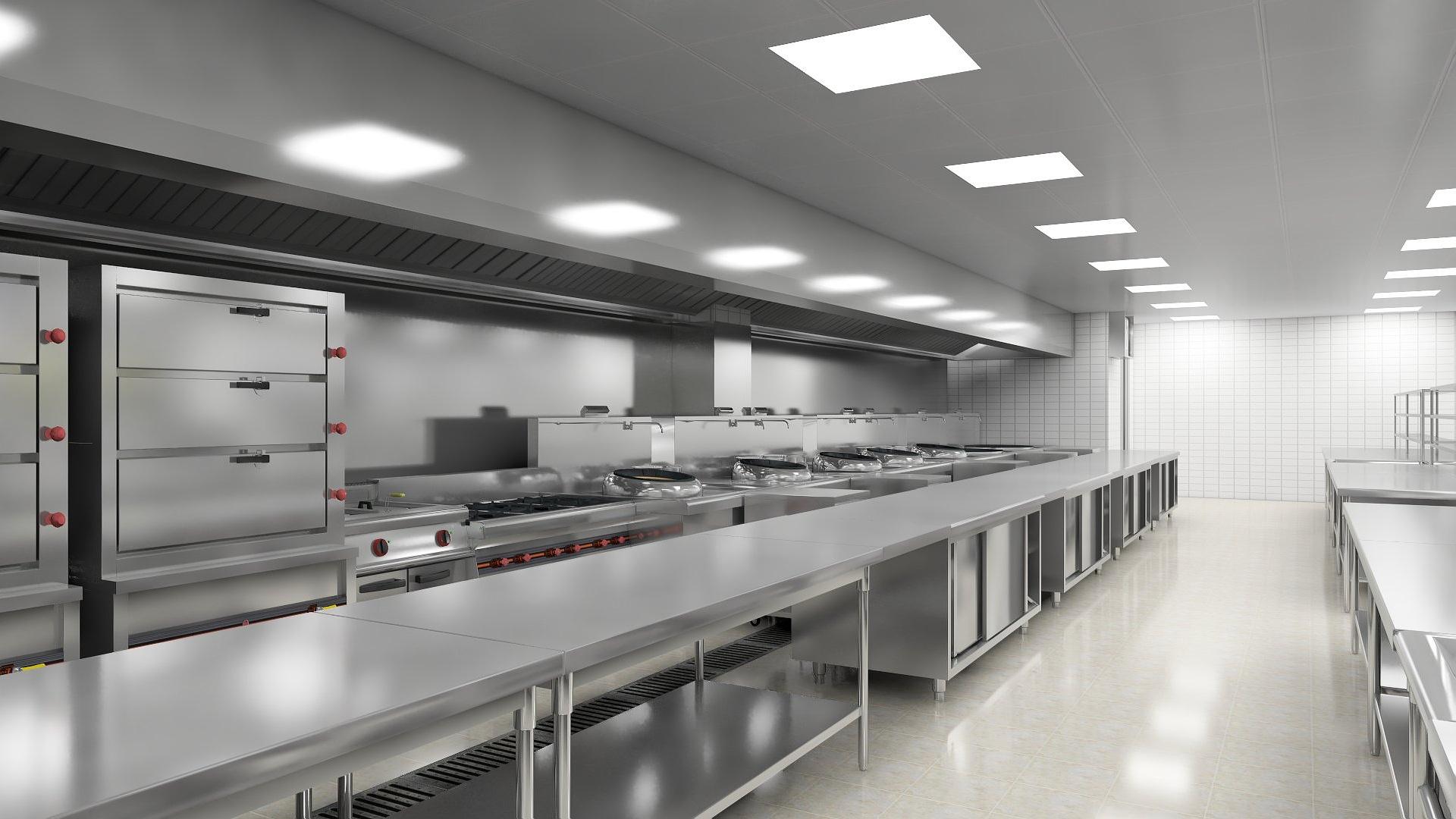 商用厨房设计-节能降耗省出一辆车钱!