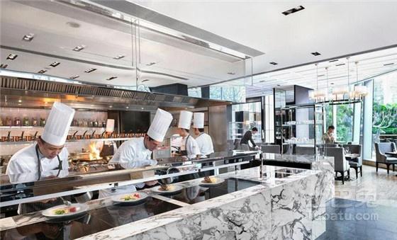 餐饮开放式厨房设计要点